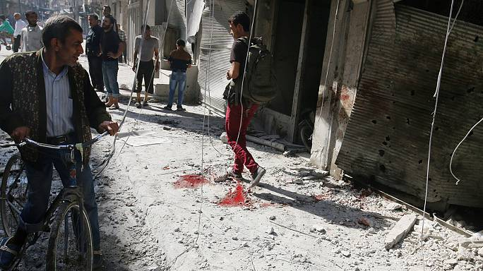 'Dozens dead' in renewed Aleppo airstrikes