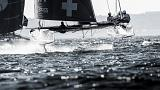 Alinghi wins third straight Act to take Extreme Sailing Series to wire