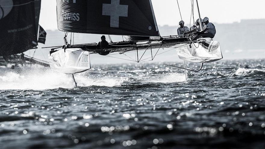 Extreme Sailing Series: Alinghi siegt in Lissabon