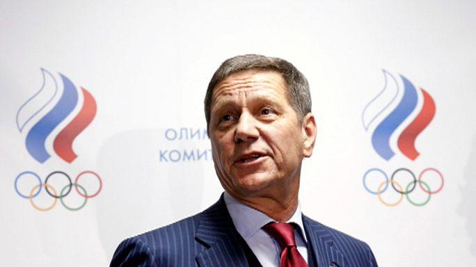 استقالة رئيس اللجنة الأولمبية الروسية