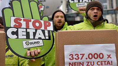 German judges hear Canada free trade deal case