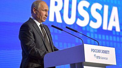 """Vladimir Poutine parle d'une """"hystérie antirusse"""""""