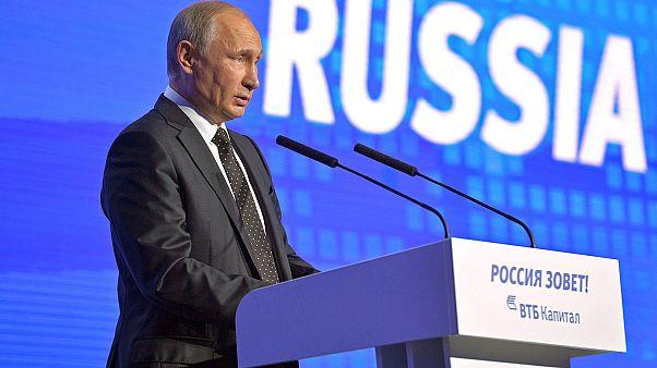 """Putin wirft westlichen Medien """"Anti-Russland-Hysterie"""" vor"""