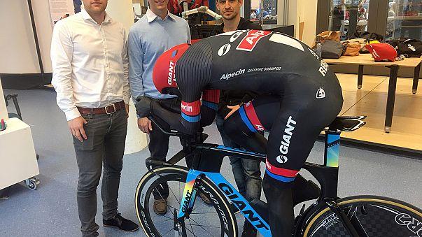 Bisikletçi Dumoulin için 'bilimsel' mayo üretildi