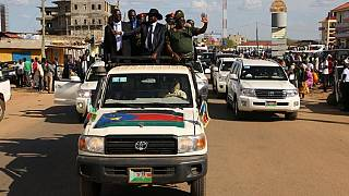 South Sudan president tours Juba to prove he is alive after death rumours