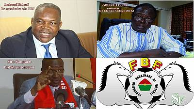 Burkina : trois candidats à la présidence de la fédération de football