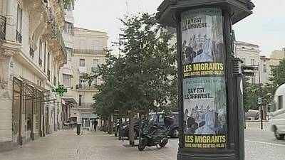 France: Far-right mayor's anti-migrant posters spark outrage