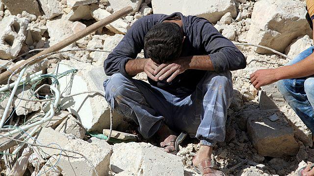 Fransa, Almanya ve İtalya Halep'teki bombardımanın durdurulması çağrısı yaptı