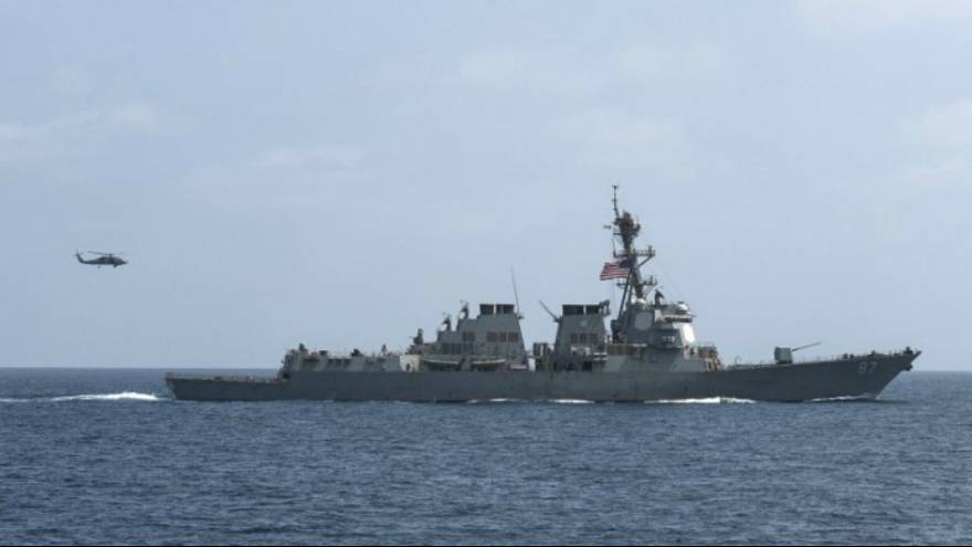 US destroyer targeted again in failed missile attack off Yemen