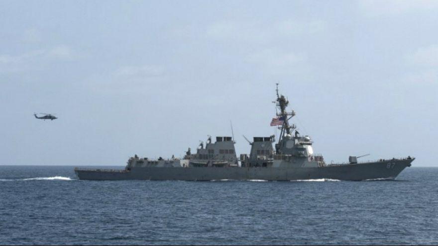 Американские корабли вновь обстреляны с территории Йемена