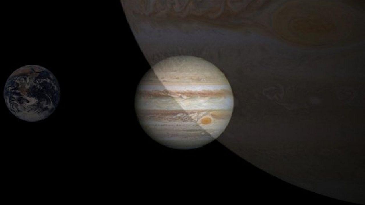 Jupiter et Mercure dans l'aurore