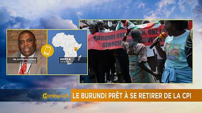 Le Burundi prêt a quitter la CPI [The Morning Call]