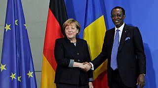 Allemagne : Idriss Déby reçu par Angela Merkel au cours d'une visite historique