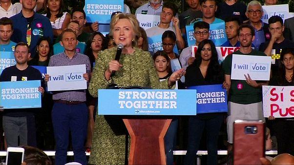 Clinton airea las denuncias de abusos sexuales de Trump