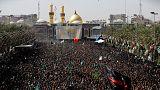 La celebrazione dell'Ashura a Kerbala, in Iraq
