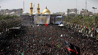 Irak: centenares de miles de chiíes celebran la Ashura en Kerbala