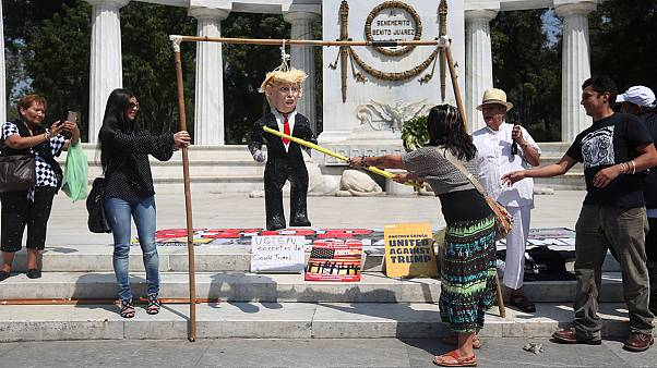Trump version pinata au Mexique