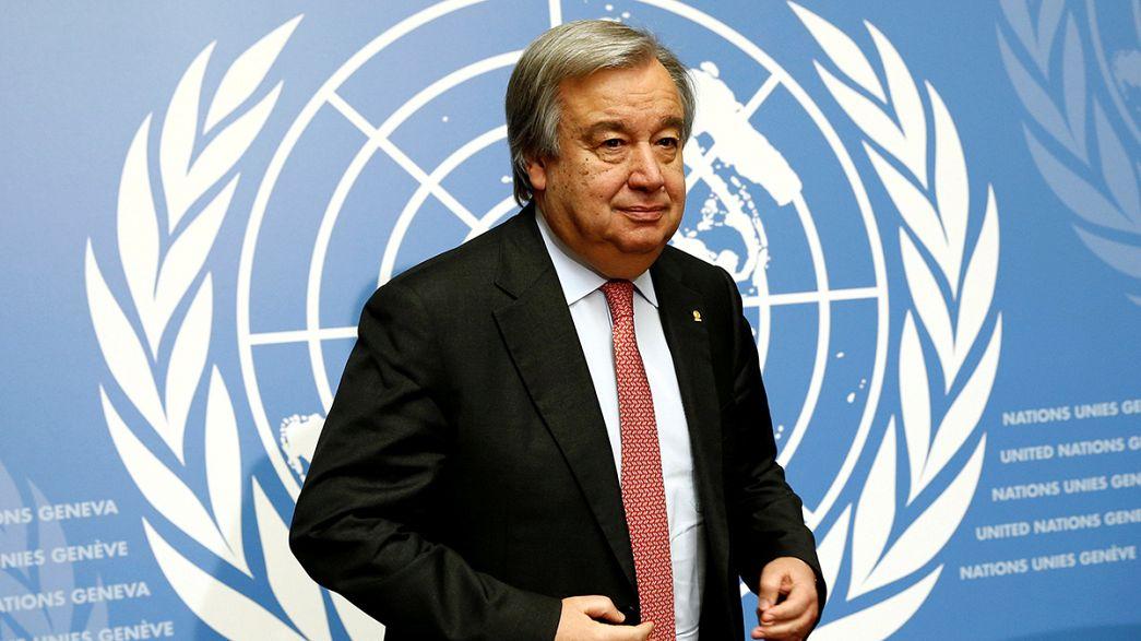 """Onu, Guterres è il nuovo segretario generale: """"Metterò la dignità al centro"""""""