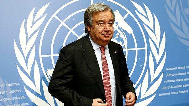 الأمم المتحدة تعين غوتيريس أمينا عاما للأمم المتحدة خلفا لبان كيمون