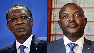 Crise burundaise : Idriss Déby défend le 3e mandat de Pierre Nkurunziza
