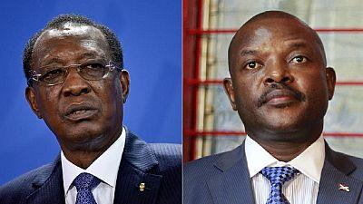 Idris Deby backs Nkurunziza, says Burundi crisis stoked by foreigners