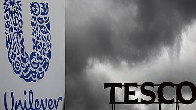 Weak pound prompts price punch-up between Tesco and Unilever