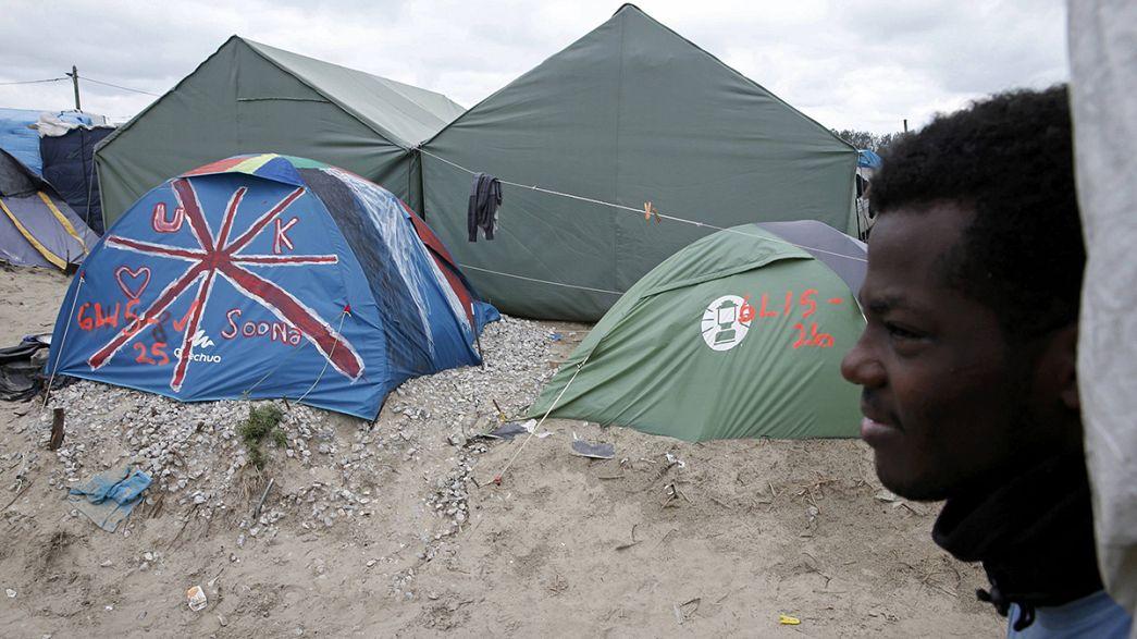 """Seis migrantes menores já deixaram a """"selva"""" de Calais rumo a Londres"""