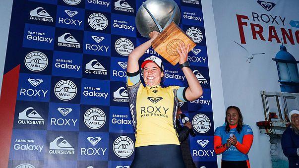 Surf : Tyler Wright devient championne du monde