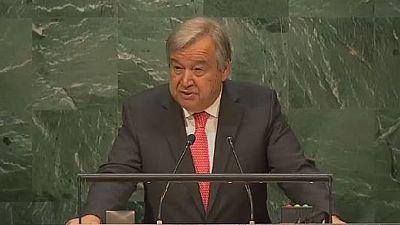 ONU: Antonio Guterres prochain Secrétaire général