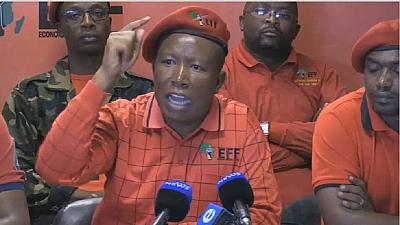 Julius Malema calls for anti-Zuma protests