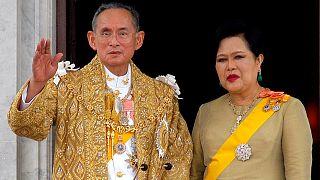 تایلند؛ یک سال سوگواری در کشور و ۹ دقیقه سکوت در پارلمان به احترام درگذشت پادشاه