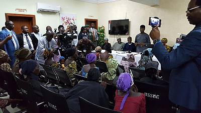 21 released Chibok girls identified, meet with Nigerian Vice President