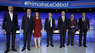 ТВ-дебаты правоцентристов во Франции