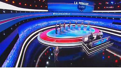 Premier débat de la primaire à droite pour la présidentielle en France