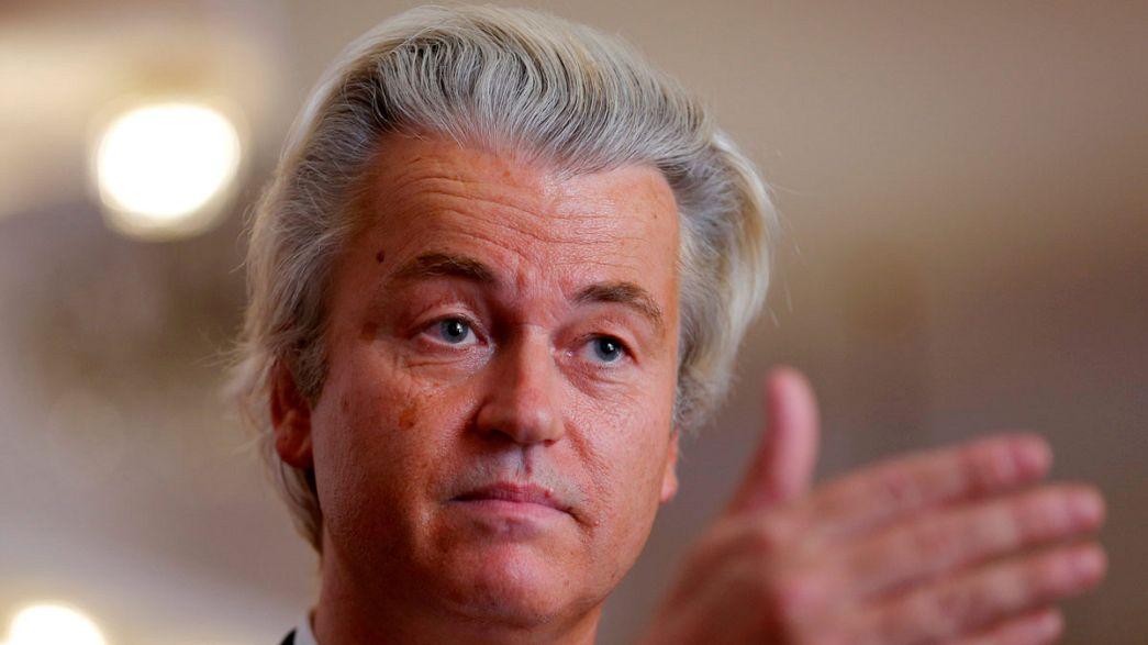 """De Wilders julgado por querer """"menos marroquinos"""" na Holanda"""