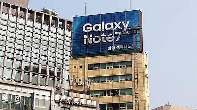 Samsung stima 2,8 miliardi di perdite operative