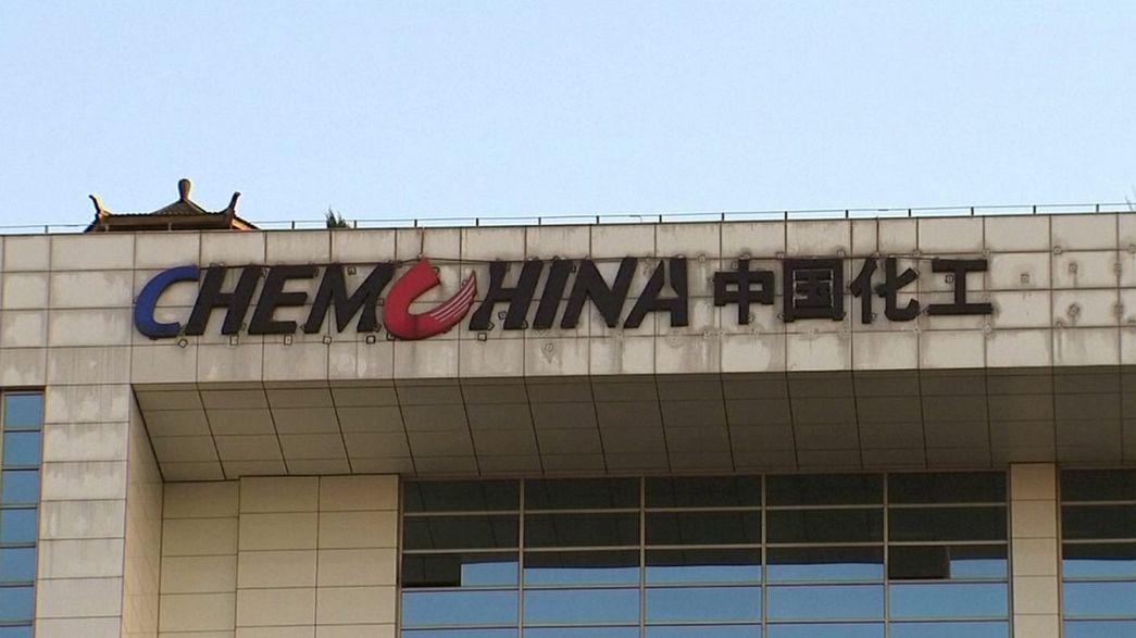 Indústria química: Chinesas ChemChina e Sinochem negoceiam fusão