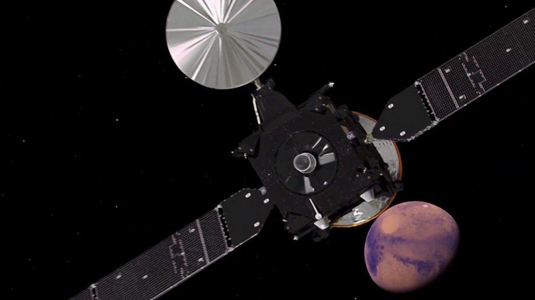 Exomars : compte à rebours avant l'atterrissage sur Mars