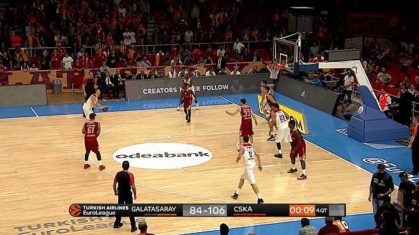 El CSKA de Moscú empieza con victoria su defensa del título de la Euroliga.