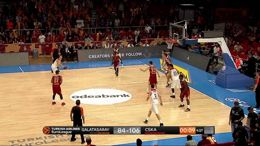 EuroLeague: CSKA open up title defence with Galatasaray thrashing