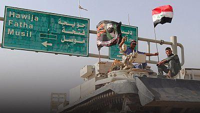 Irak: Llegan las fuerzas especiales para unirse a la gran ofensiva de Mosul
