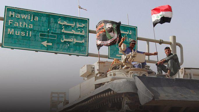 Moszul visszafoglalására készülnek az iraki speciális erők