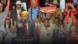 Donald Trump cinsel taciz iddialarını gündeme getiren gazetecilere ateş püskürdü