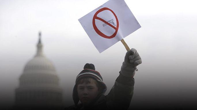 США: распространение огнестрельного оружия приводит к гибели детей