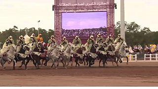 Le Tbourida festival fantasia du Maroc