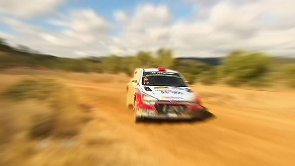 Dani Sordo lidera el Rally de Cataluña