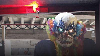 Messerattacke: Gruselige Clowns jetzt auch in Schweden
