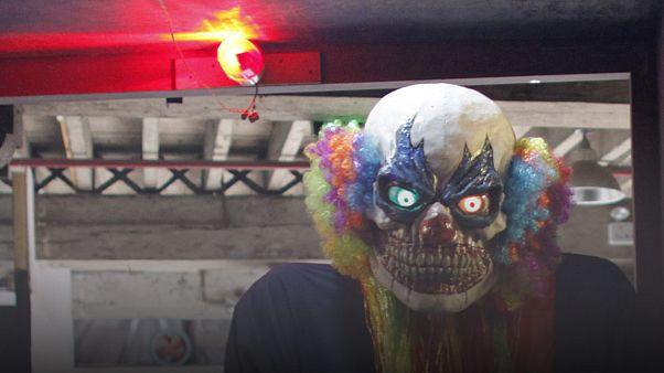 Creepy clown stabs teenager in Sweden