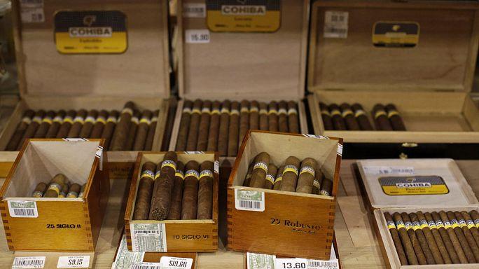 Obama relaja el embargo a Cuba con nuevas medidas que favorecen la importación de ron y tabaco