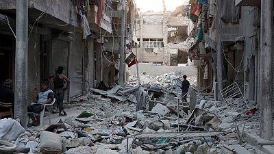 Lavrov y Kerry se reúnen de nuevo en Suiza para hablar de la paz en Siria